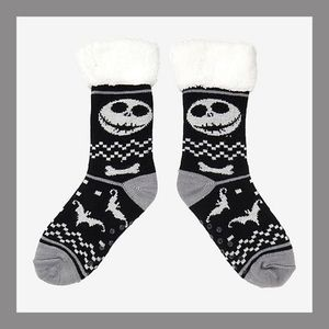 ❗️NEW❗️Nightmare Before Christmas Cozy Socks